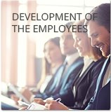 Development of the employees